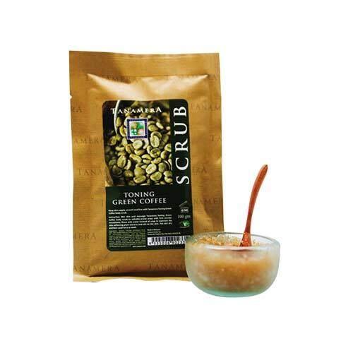 TANAMERA Scrub Sachet 100g - Toning Green Coffee