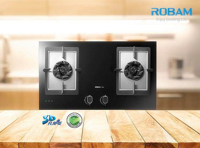 ROBAM B978 2 Burners Glass Hob