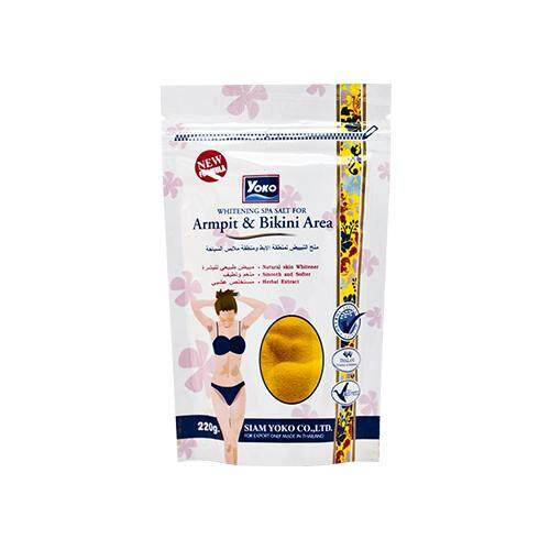 YOKO Whitening Spa Salt for Armpit & Bikini Area 220g