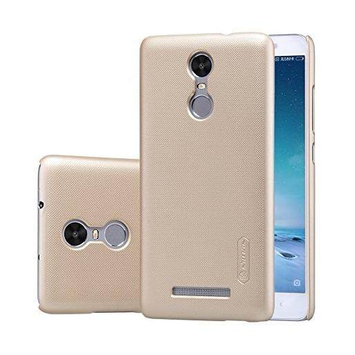 Nillkin PC Matte Super Frosted Shield Back Case for Xiaomi Redmi Note 3 (Black/Gold)