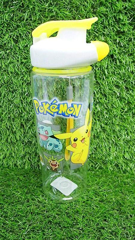 700ML Cartoon Water Bottle Kids Drinking Bottle BPA Free (BGJAYA)-Pokemon