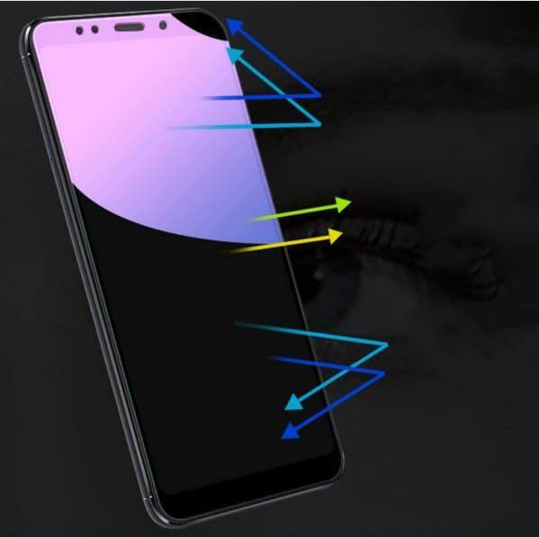 Tempered Glass for Xiaomi Redmi Note 5 Pro - 2.5D Curve Screen Protector [Anti-Blue]