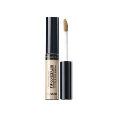 THE SAEM Cover Perfection Tip Concealer 6.5g - 01 Clear Beige