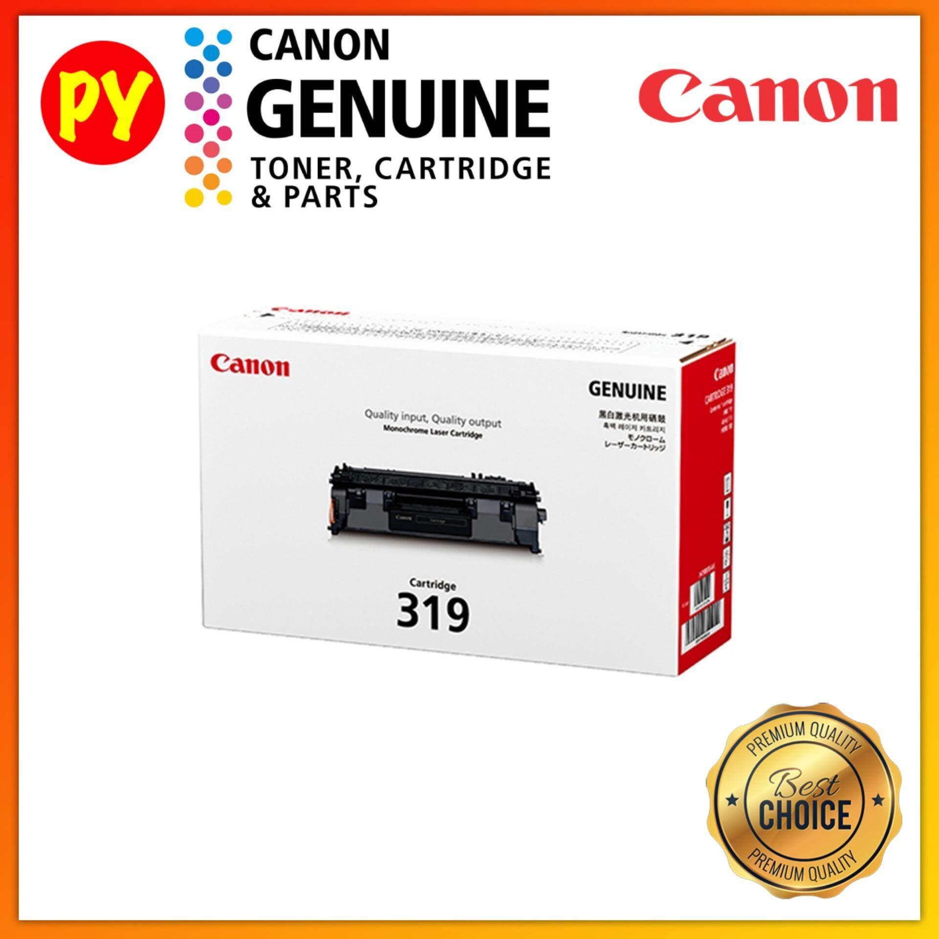 Canon Cartridge 319 Black Original Laser Toner - for LBP-6300dn / LBP-6650dn / LBP-6680x / LBP-251dw / LBP-253x / imageClass MF416dw / MF-5870dn / MF-5980dw MF-6180dw / MF5840DN / MF5880DN
