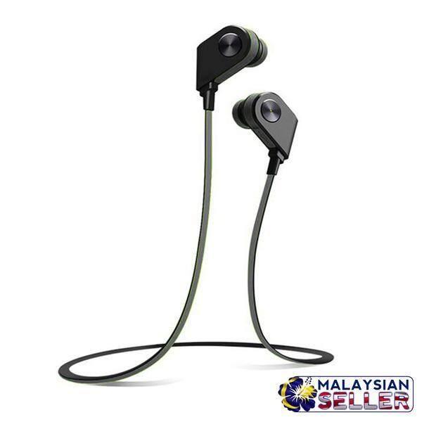 AMW-26 Bluetooth Sports Stereo Wireless Headset Sweatproof Lightweight-Black