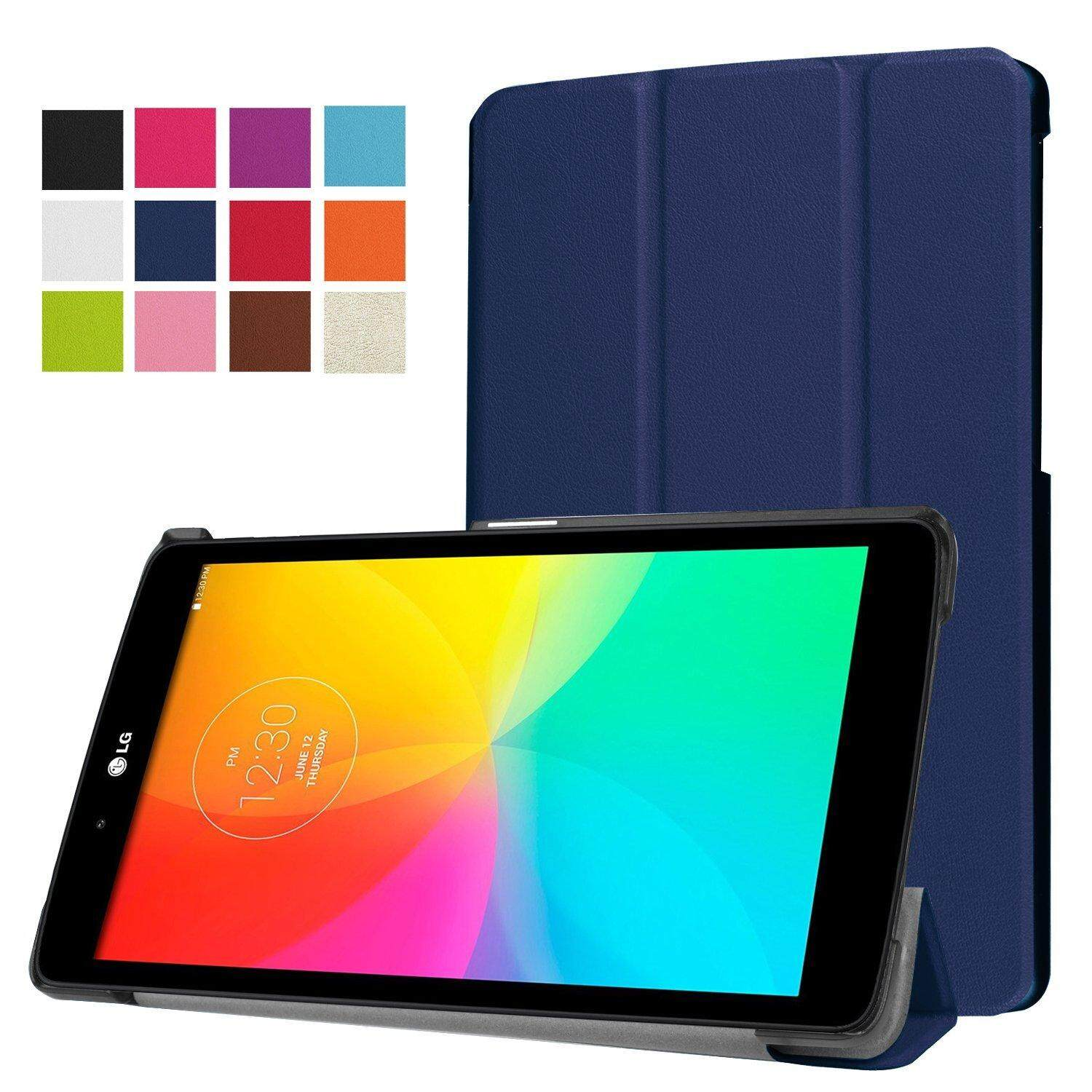 LG G Pad X 8.0 Case,LG G Pad III 3 8.0 Case,CLOUDSEA Ultra Slim Lightweight PU Leather Stand Cover LG G Pad X 8.0 (T-Mobile V521WG) / G Pad III 8.0 V525 8-Inch Tablet - intl