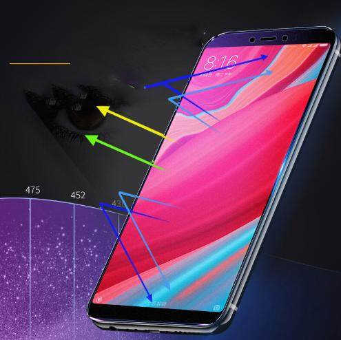 Tempered Glass for Xiaomi Redmi 6A- 2.5D Curve Screen Protector [Anti-Blue]