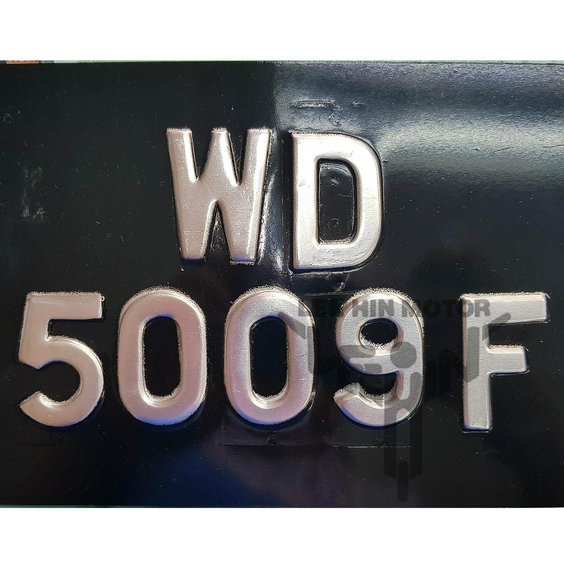 Motorcycle Stainless Steel Rear Number Plate