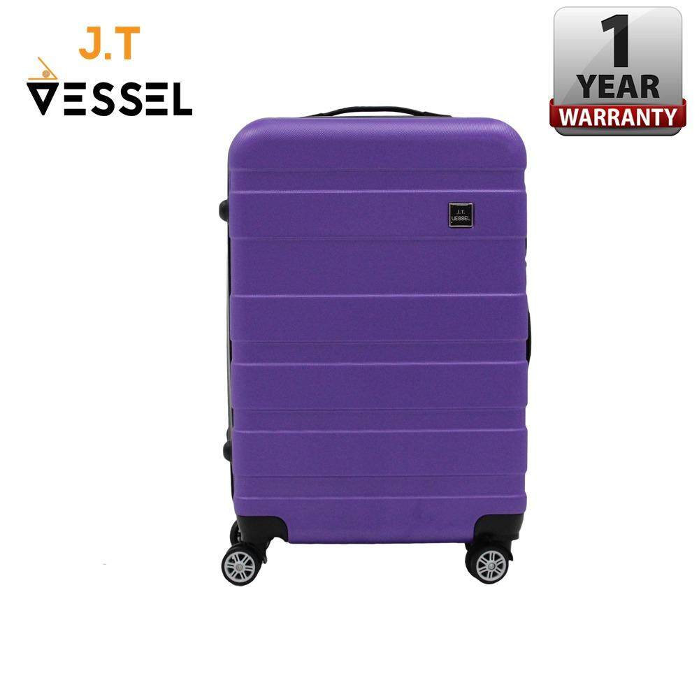 "J.T VESSEL: Durable 20"" Band Travel Luggage"