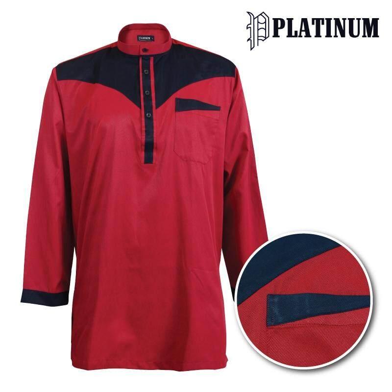 PLATINUM BIG SIZE Microfiber Kurta Cut & Sew PM9154 (Red)