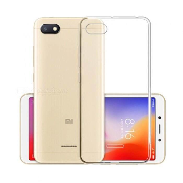 TPU Silicone Gel Soft Case for Xiaomi Redmi 6A (Transparent)