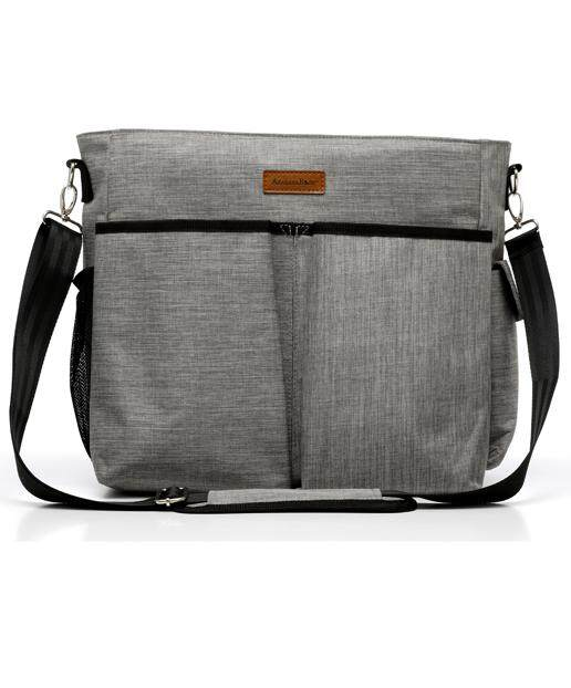 Akarana Baby Lightweight Spacious Te Awa Kaumera Grey Diaper Bag