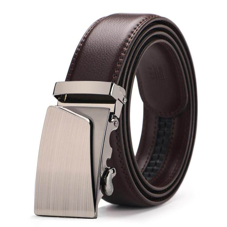 DOULILU Men Leather Automatic Buckle Waist Belt Tali Pinggang 207 -MI2072