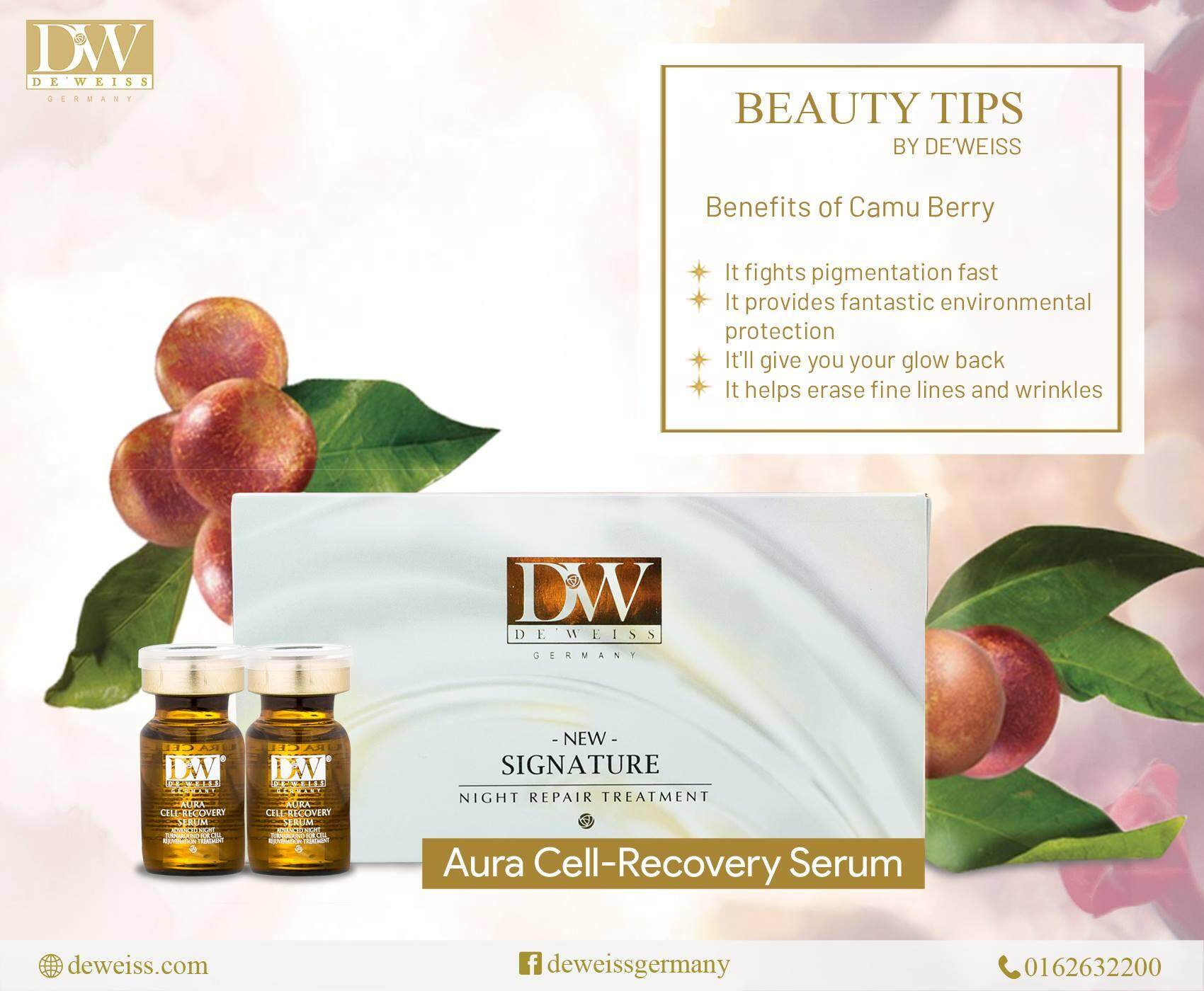 Deweiss Aura Cell-Recovery Serum