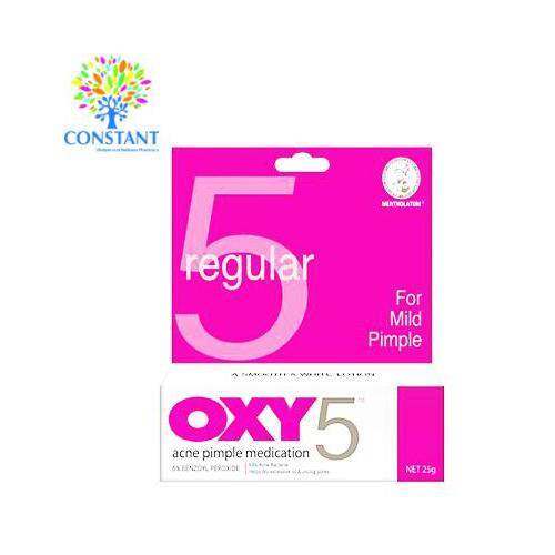 Oxy5 Acne Pimple Medication 25g [FREE SHIPPING]