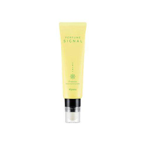APIEU Perfume Signal Hand Cream 30ml & Lip Balm 2.3g - Freesia