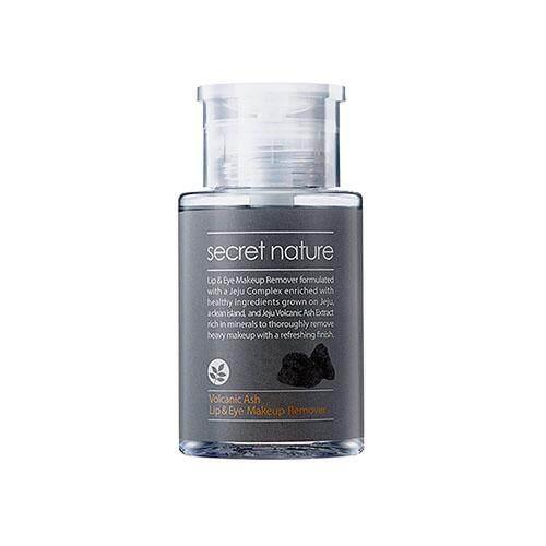 SECRET NATURE Volcanic Ash Lip & Eye Makeup Remover 150ml