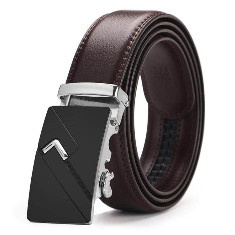 DOULILU Men Leather Automatic Buckle Waist Belt Tali Pinggang 204 -MI2042