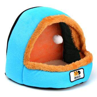 Harga preferensial Peliharaan Anjing Kucing Tempat Tidur Anak Anjing Bantalan Rumah Hangat Lembut Keranjang Mainan Bola