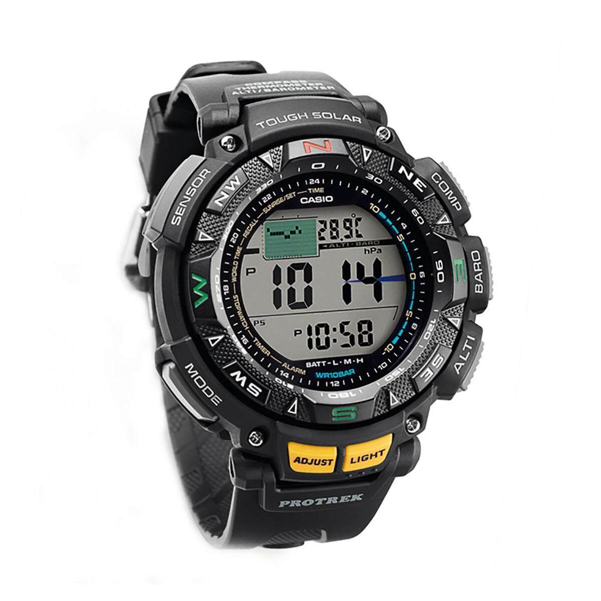 Casio Protrek Prg 240 1 Hitam Daftar Harga Terkini Terlengkap Prw 3100y 1dr Jam Tangan Pria Watch Tough Solar Black Stainless Steel Case Resin Strap Mens