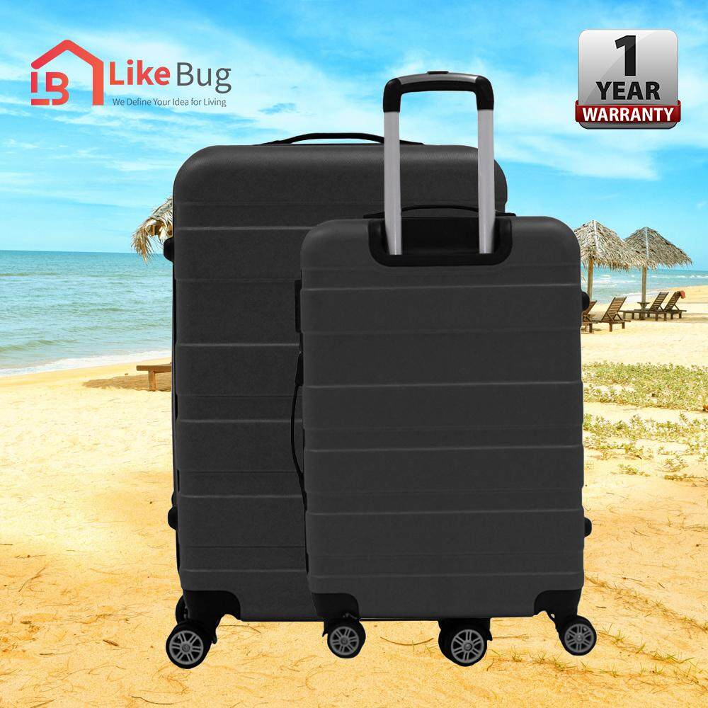 "J.T VESSEL:1 Year Warranty Durable  20"" & 24"" Band Luggage WITH 1 YEAR WARRANTY"