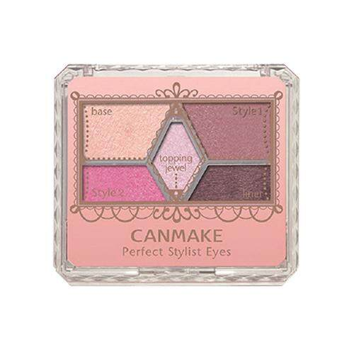 CANMAKE Perfect Stylist Eyes Eyeshadow Palette 3.8g - 17 Princess Bouquet