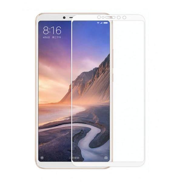 Tempered Glass for Xiaomi Mi Max 3  [Full Cover White] Screen Protector