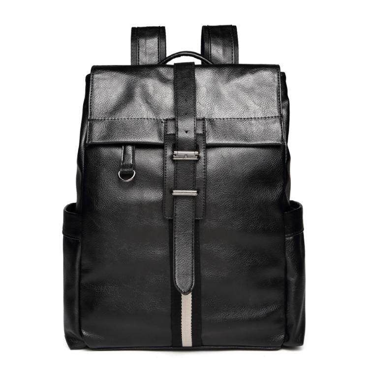 Casual Leather Backpack Laptop Bag Light Weight Waterproof Travel Bag 183 MI1831