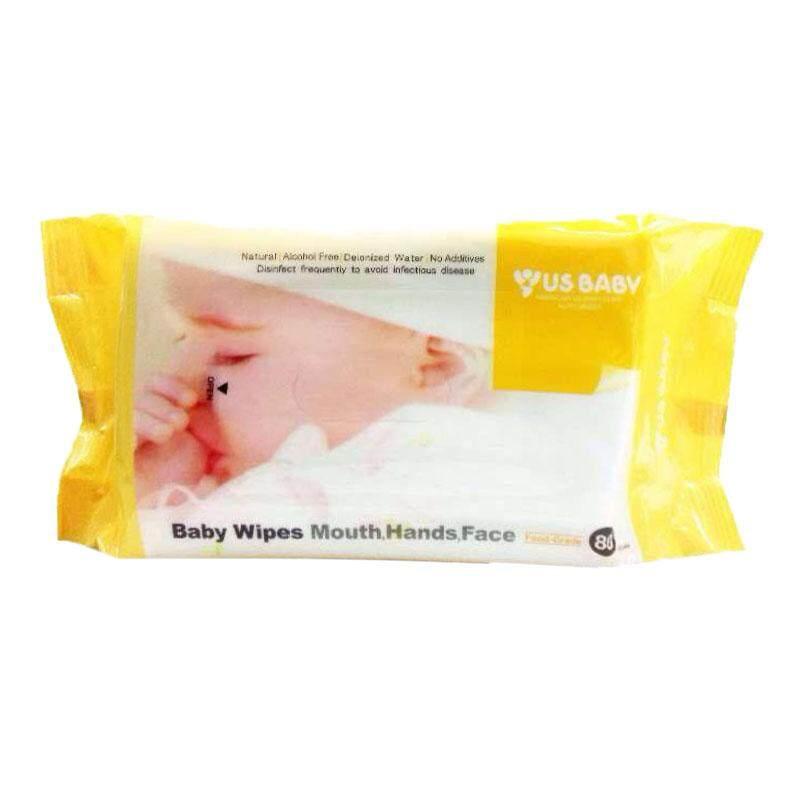 US Baby Wipes Gums & Teeth 80'S