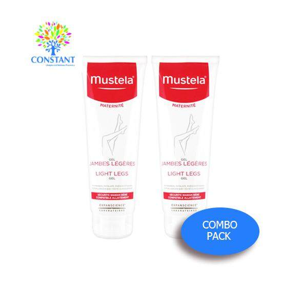 Mustela Light Legs Gel 125ml x 2 (COMBO PACK)