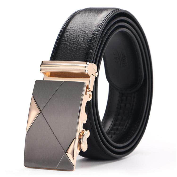 DOULILU Men Leather Automatic Buckle Waist Belt Tali Pinggang 208 -MI2081