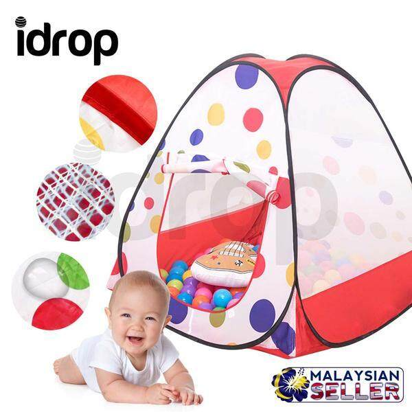 Kiddey Ball Pit Play Tent with Convenient Carry Bag for Easy Travel  and Storage -