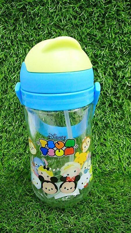 650ML Cartoon Water Bottle Kids Drinking Bottle BPA Free (BGJAYA)-Tsum Tsum