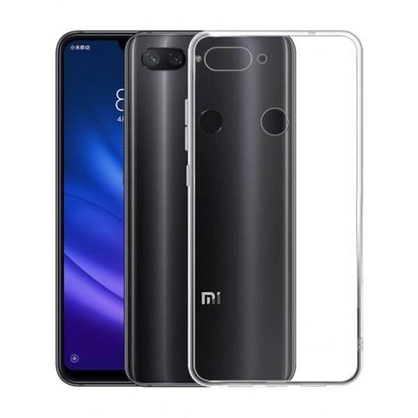TPU Silicone Gel Soft Case for Xiaomi Mi 8 Lite / Youth Edition (Transparent)