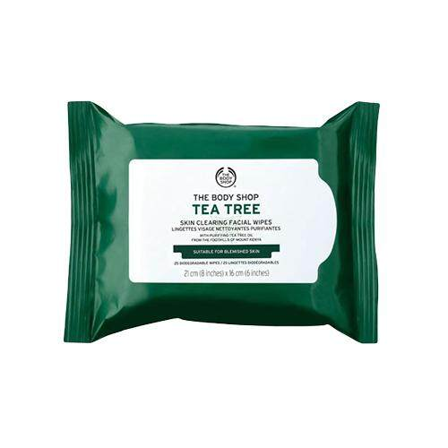 THE BODY SHOP Facial Wipes 25s - Tea Tree Skin Clearing