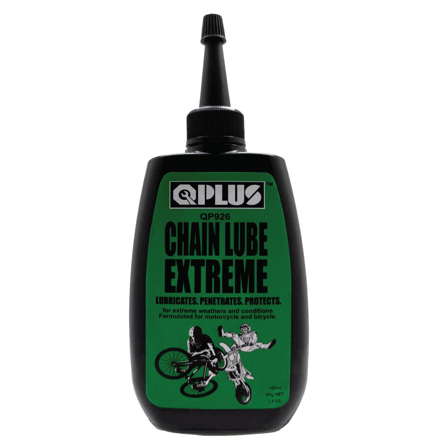 QPLUS QP926 CHAIN LUBE EXTREME/ MOTORCYCLE CHAIN/ WET LUBE MTB ROAD BIKE (100ml) (CHAIN MAINTENANCE)