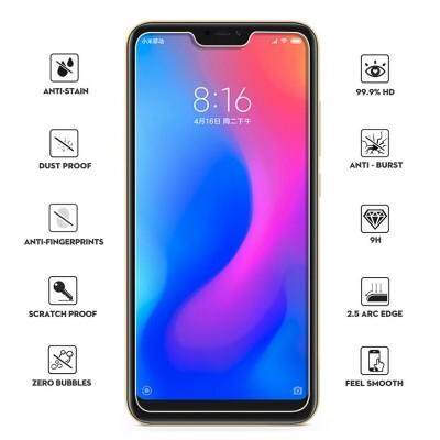Tempered Glass for Xiaomi Redmi Note 6 Pro- 2.5D Curve Screen Protector [Transparent]