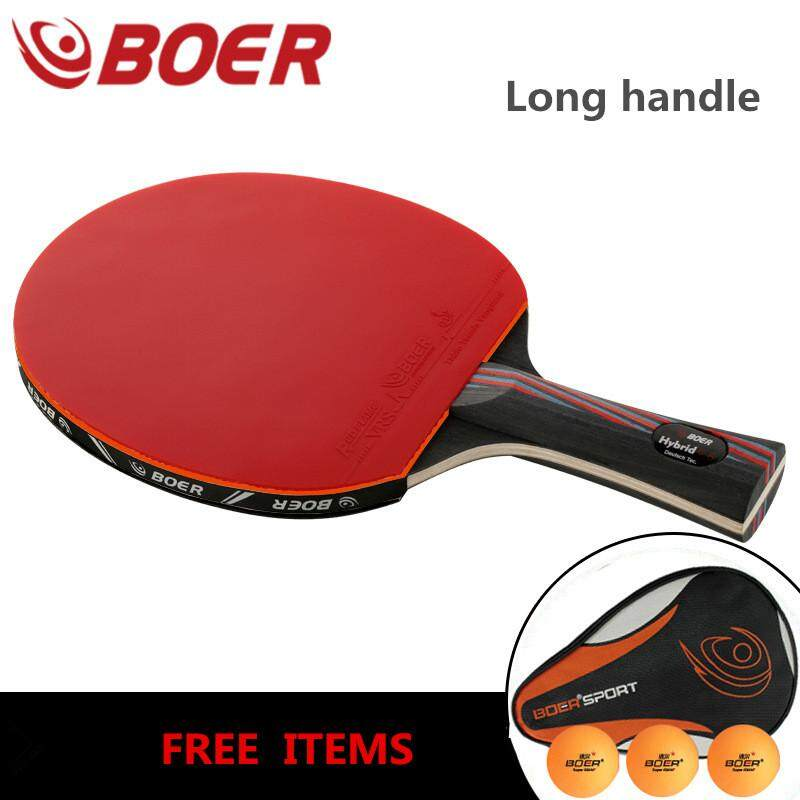 Original Boer 9.8 Table Tennis Racket Finished Pingpong Rackets Two Pimples  in Rubbers long Handle 195061d7c1f0