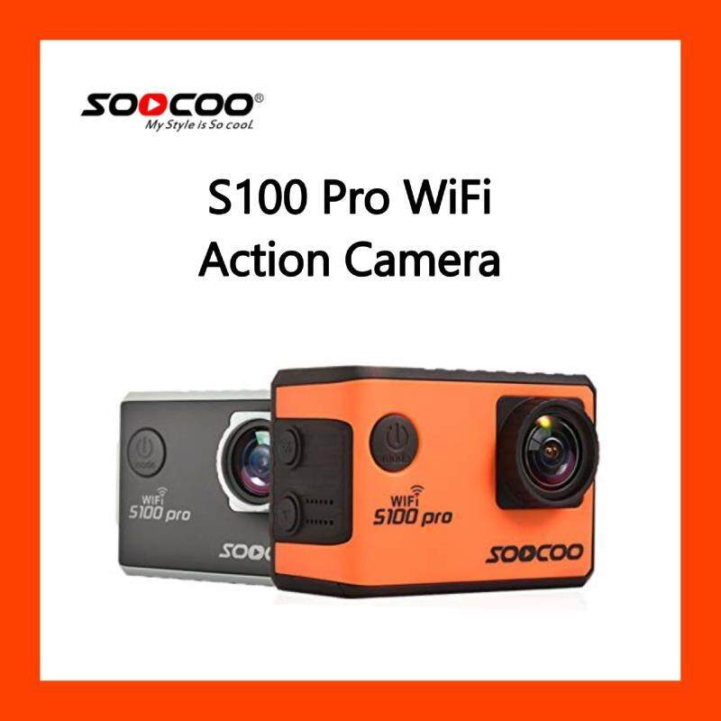 Soocoo S100 Pro Voice Control Wifi 4K Action Camera 2.0 Touch Screen with Gyro