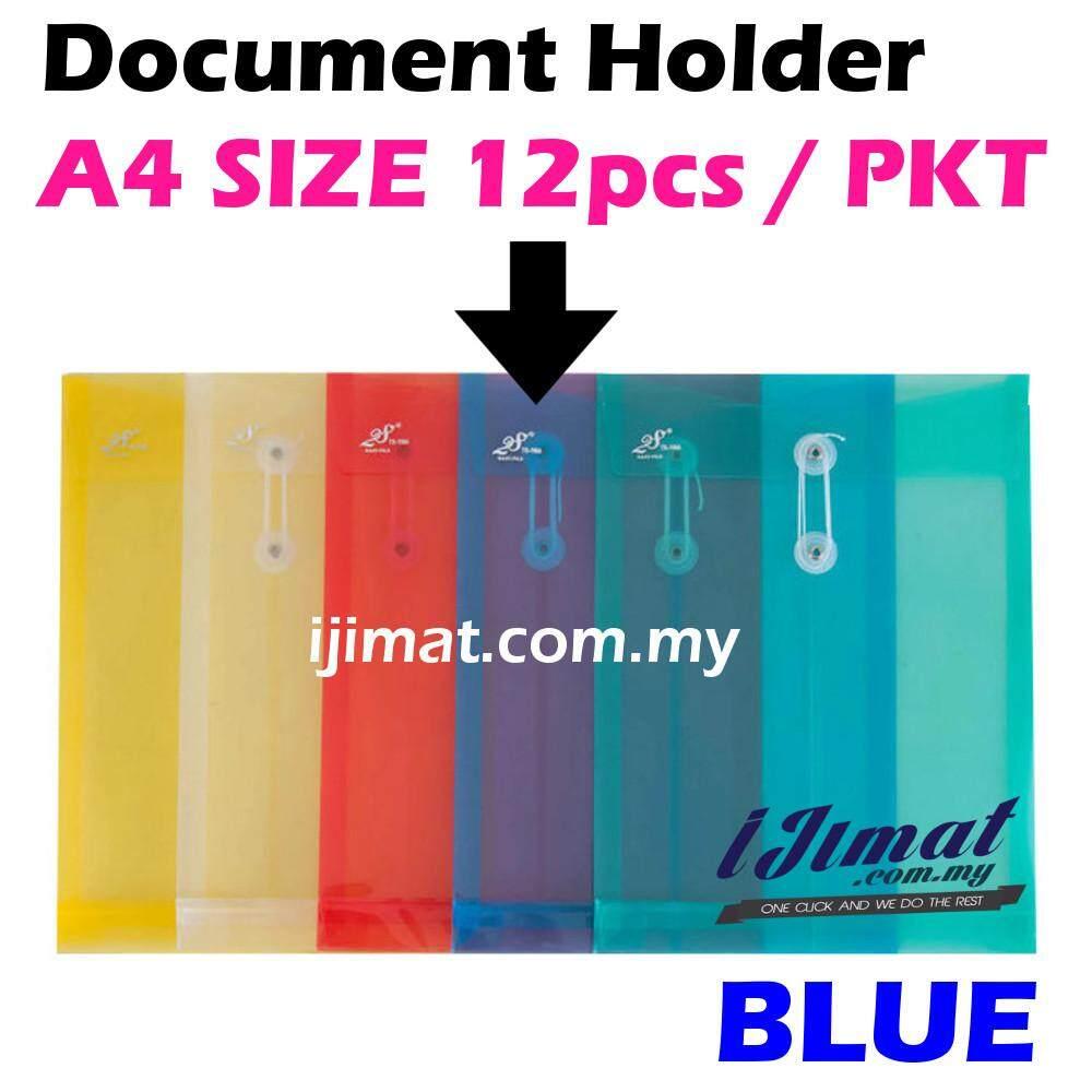 I JIMAT East-File TS-118A TS118A 118A Envelope File Colour Document Holder 12pcs/pack (BLUE) Color