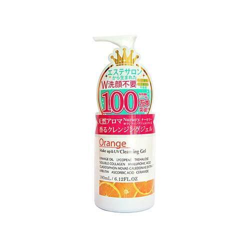 NURSERY Makeup Remover & UV Cleansing Gel 180ml - Orange