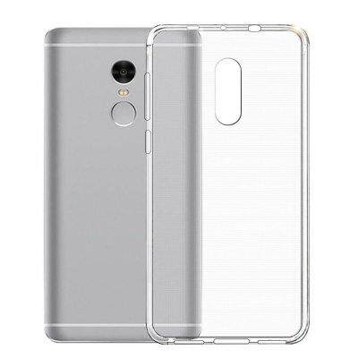 TPU Silicone Case for Xiaomi Redmi Note 4/4X (Transparent)
