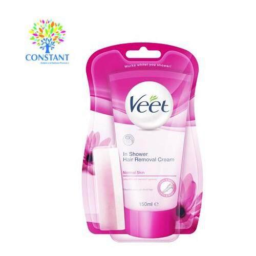 Veet In Shower Hair Removal Cream (Normal Skin) 150ml