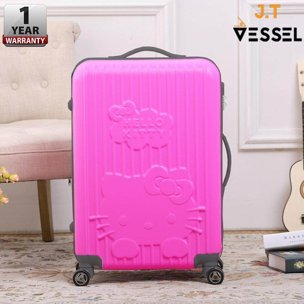"J.T VESSEL:1 Year Warranty Durable Cute & Adorable Charmmy 20"" KT Luggage WITH 1 YEAR WARRANTY"