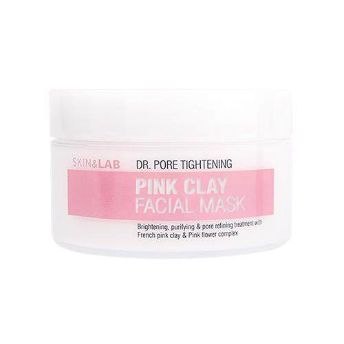 SKIN & LAB Dr. Pore Tightening Glacial Pink Clay Facial Mask 100g