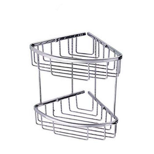 CORONA Bath Basket Double ( Conner Shelf)