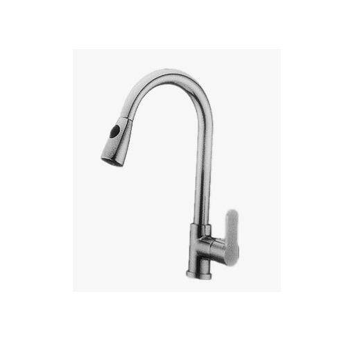 Corona Kitchen Mixer With Pull Out Shower Pillar Cold Tap CRWT1307