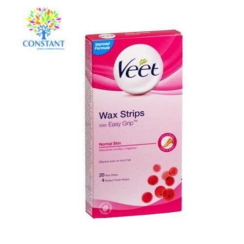 Veet Wax Strips (Normal) 20's