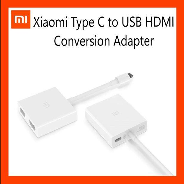 [Original] Xiaomi Mi USB-C to HDMI Cable Converter [Multi-Function Adapter]