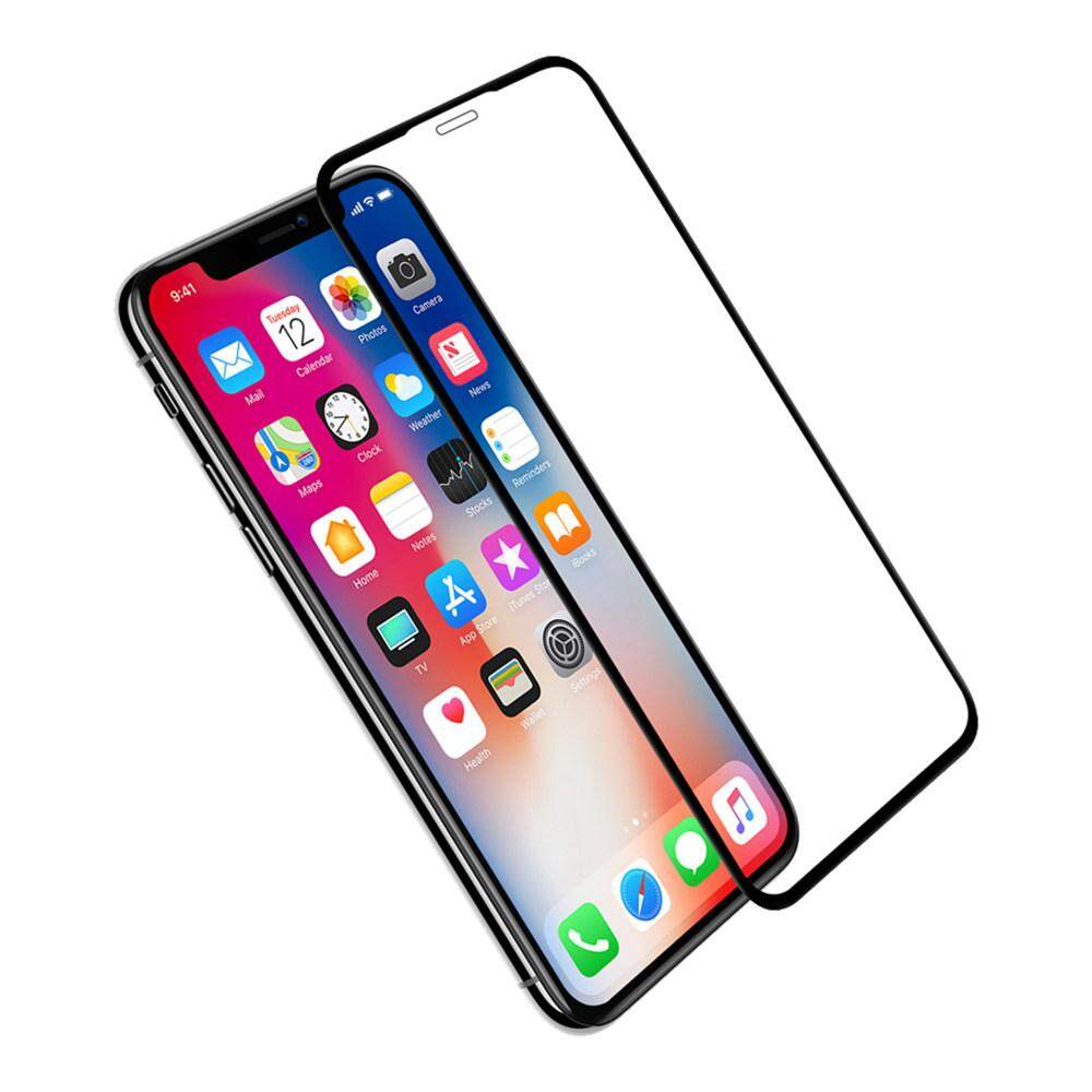 Tempered Glass for Apple iPhone XR - 2.5D Curve Screen Protector [Full Cover Black]